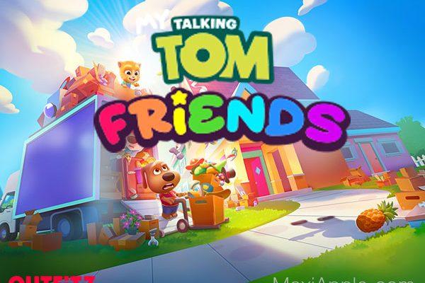 jeu chat my talking tom friends iphone ipad 01 600x400 - My Talking Friends iPhone iPad - Retour de Tom le Chat (gratuit)