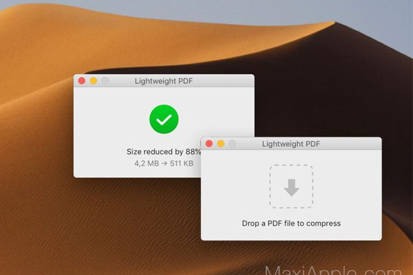 lightweight pdf macos mac gratuit 1 600x400 - Lightweight PDF Mac - Compresser vos Documents de 70% (gratuit)
