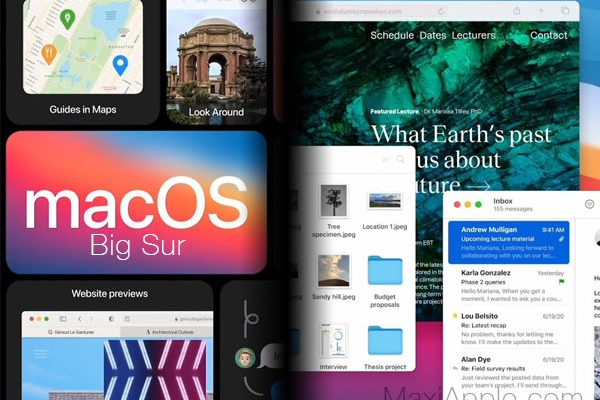 nouveautes wwdc2020 macos 11 bigsur ios 14 test video 01 600x400 - Les Annonces WWDC 2020 Résumées et Détaillées (vidéo)