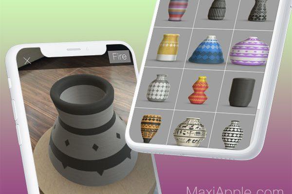pottery ar app iphone ipad ios 1 600x400 - Pottery AR iPhone - Apprendre la Poterie en Réalité Augmentée (gratuit)