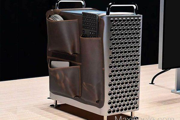 selle cuir mac pro gear saddle rangement 1 600x400 - Selle en Cuir pour Ranger les Accessoires du Mac Pro