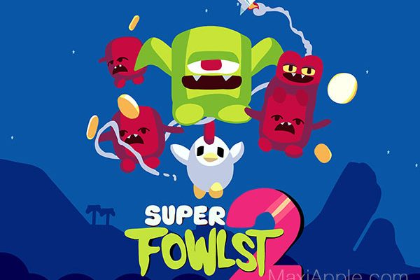 super fowlst 2 jeu iphone ipad ipod gratuit 600x400 - Jeu Super Fowlst 2 iPhone iPad - Retour de la Poule Rebelle (gratuit)