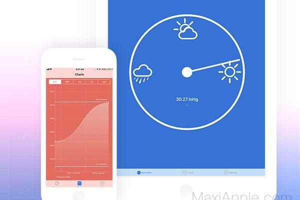 Digital Barometer S10 pour iPhone et iPad