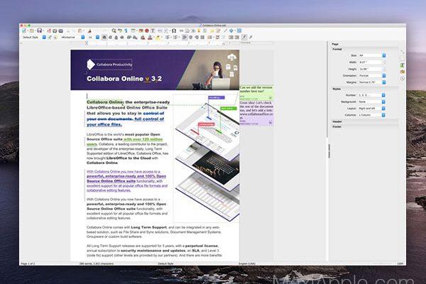 libreoffice vanilla macos mac gratuit 1 600x400 - LibreOffice 6 Mac - Alternative Libre à MS Office 365 (gratuit)