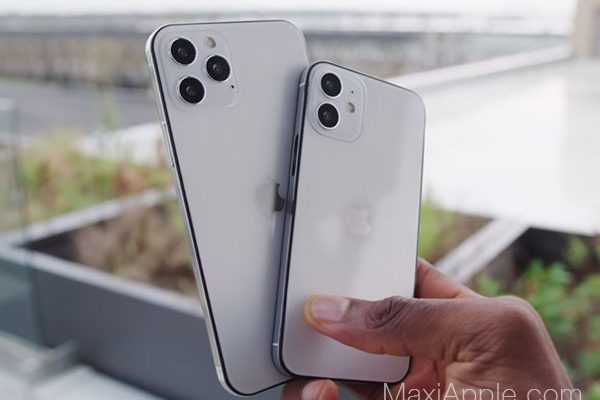 Maquettes iPhone 12 en video