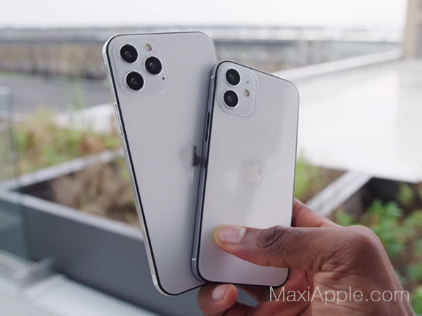 Maquettes iPhone 12 en video