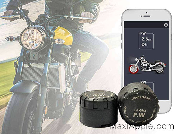 capteurs connectes pneus moto