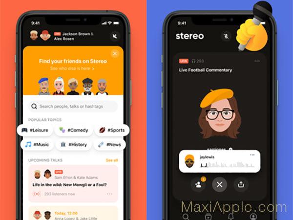 Stereo App iOS